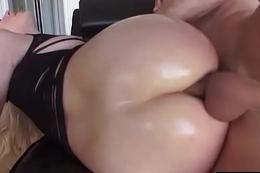 (Dahlia Sky) Slut Girl With Big Ass Love Hard Anal Sex Action clip-20
