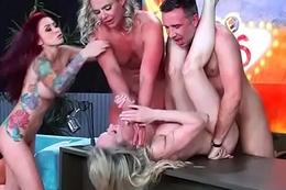 (Brandi Love &amp_ Marsha May &amp_ Monique Alexander &amp_ Phoenix Marie &amp_ Romi Rain) Sexy Porn