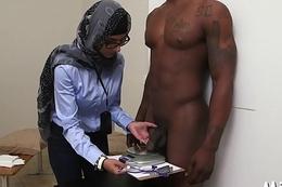 Arab big mambos nude inside library