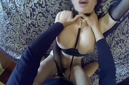 Veronica Avluv win her tiny gaping asshole fucked by a huge cock