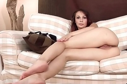 Frisky czech girl gapes will not hear of soft fuckbox thither the unusual